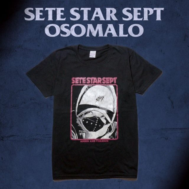 SETE STAR SEPT x OSOMALO コラボTシャツ