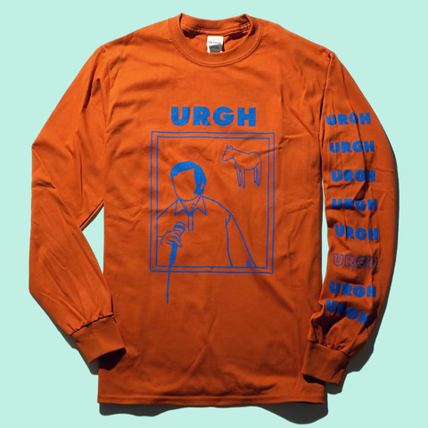URGH バンドTシャツ|ライブ会場で販売スタート
