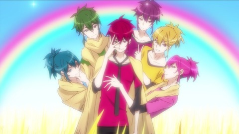 TVアニメ「ラブ米」第7膳「六つ子さん」がF6のパロディっぽいと話題に!?