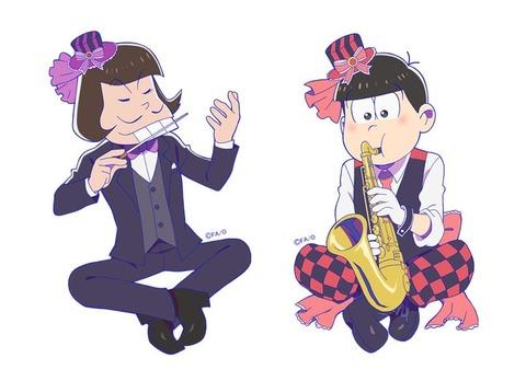 【AnimeJapan2017】おそ松さん吹奏楽松アクリルキーホルダー先行発売決定!全6種、各1,000円