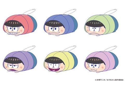 おそ松さんもちっとマスコットが12月16日11時よりエイこれット通販受付開始