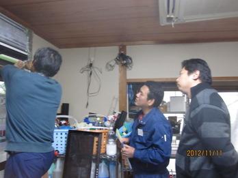 2012年11月 エアコン講習 002