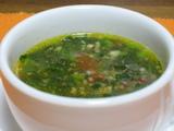 モロヘイアスープ2