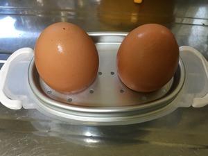電子レンジゆで卵調理器、その3