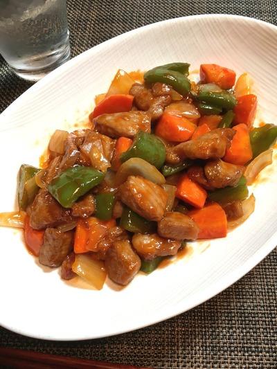 酢豚のレシピ