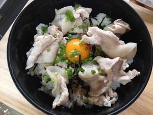 ゆで豚丼のレシピ、その4