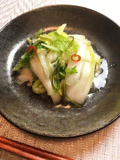 白菜の浅漬けのレシピ、その8