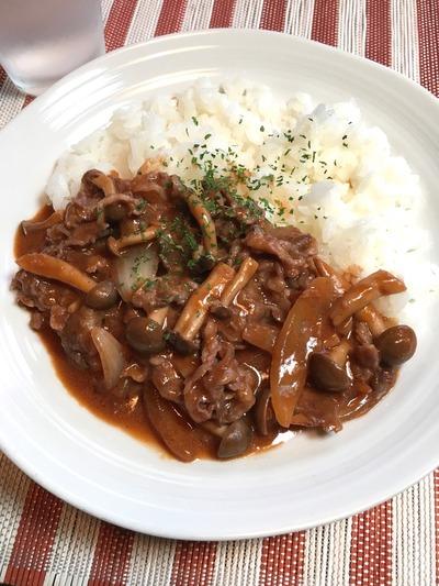 ハヤシライスのレシピ