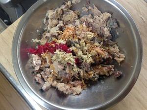 サバ缶レシピ、おろしサバ蕎麦その2