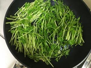 豆苗の中華風ニンニク炒めのレシピ、その5