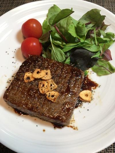 こんにゃくステーキのレシピ