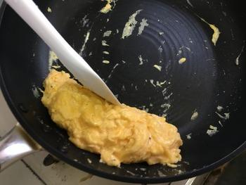 牛すきオムレツのレシピ、その6