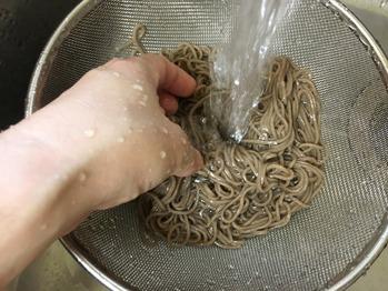 おろし蕎麦のレシピ、その3