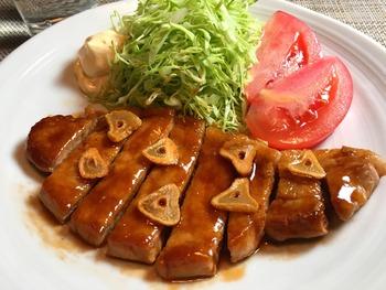 トンテキのレシピ