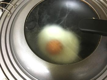 目玉焼きのレシピ、その4