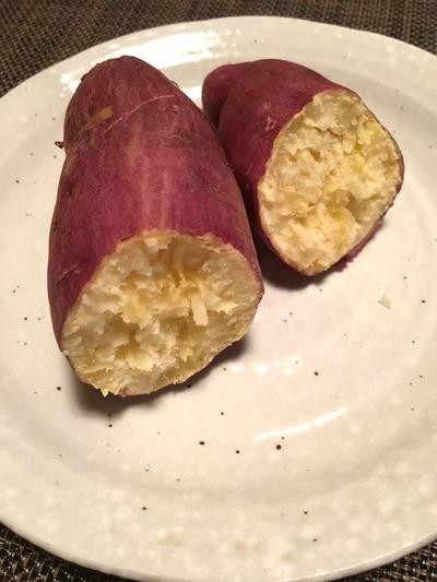 オイシックス食材で焼き芋