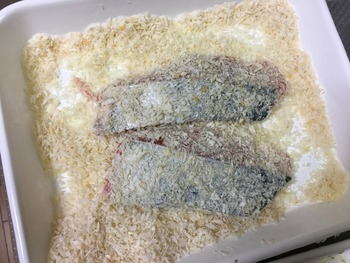 鮭フライのレシピ、その4