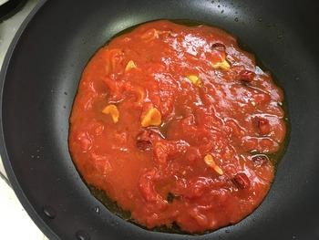 アラビアータのレシピ、その6
