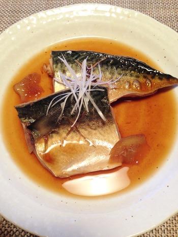鯖の煮つけ