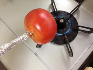 トマトの冷製パスタのレシピ、その1