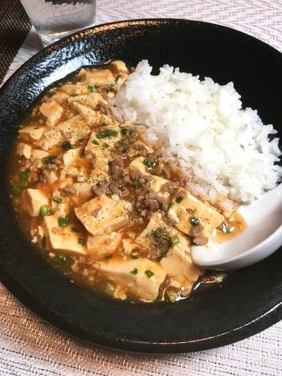 オイシックス食材でマーボー豆腐