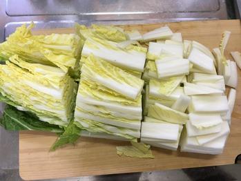 白菜の浅漬けのレシピ、その1