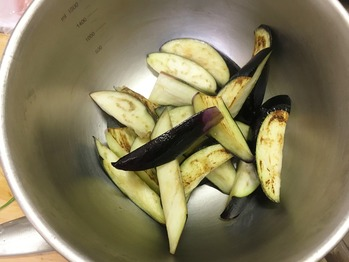 ナスと挽肉の味噌炒めのレシピ、その5