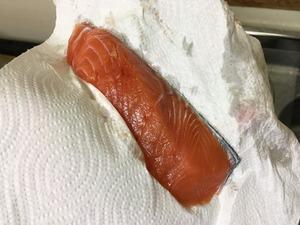 鮭のホイル焼きのレシピ、その3