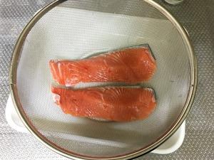 鮭のホイル焼きのレシピ、その2