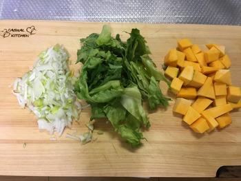 かぼちゃのハーブソルトチャーハンのレシピ、その3