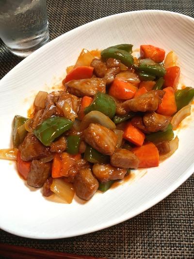 酢豚のレシピ、その10