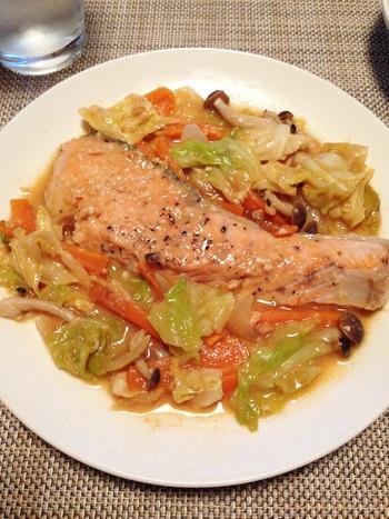 鮭のちゃんちゃん焼きのレシピ、その9