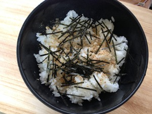 ゆで豚丼のレシピ、その3
