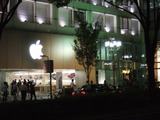 iPhone5発売日前日・名古屋栄