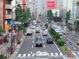 大津通から大須を望む