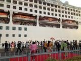 名古屋港・サンプリンセス号来航記念20130517