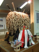 馬の塔飾り 長久手郷土資料館