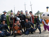 武将隊2011.04/16名古屋城