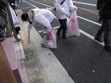 開催後の清掃活動