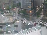 名古屋駅ロータリー水没