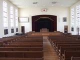 清掃後の講堂