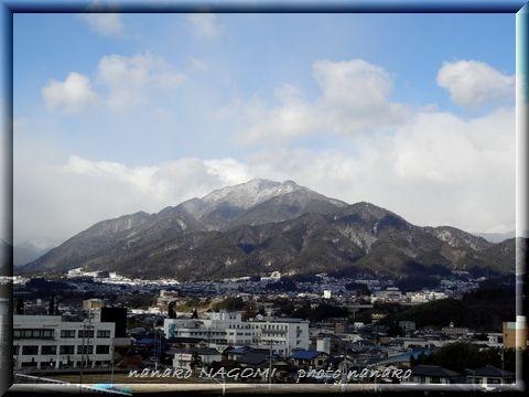 今日の風越山