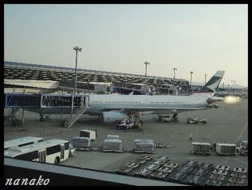 セントレア・・・乗る飛行機・・・