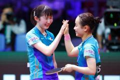 世界卓球 早田・伊藤組、日本人ペア48年ぶりに決勝進出