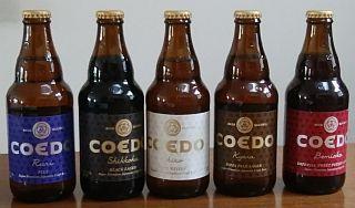 COEDOビール5種の画像