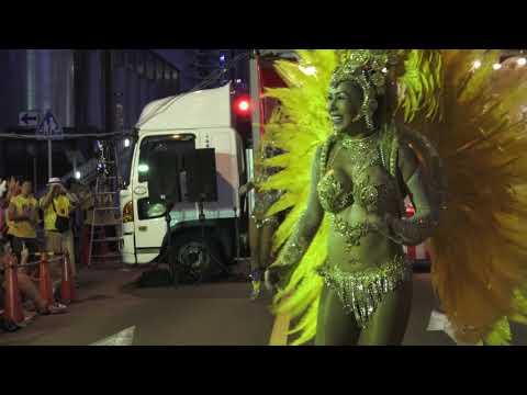 【動画】本場ブラジル・エロ・サンバ@三田納涼カーニバル2018