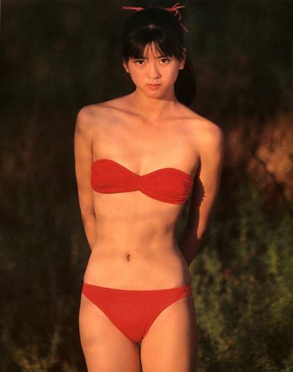 河合奈保子、岡田有希子とか昔のアイドル水着 (61)