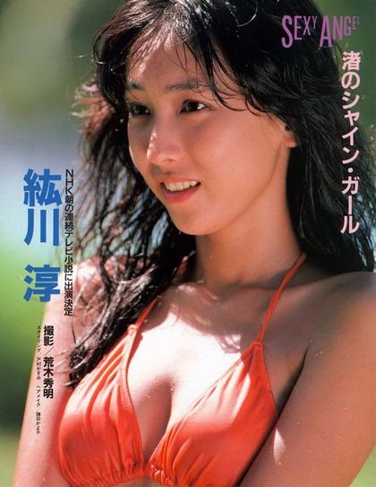 河合奈保子、岡田有希子とか昔のアイドル水着 (77)