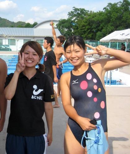 女子水球選手の水着 (30)