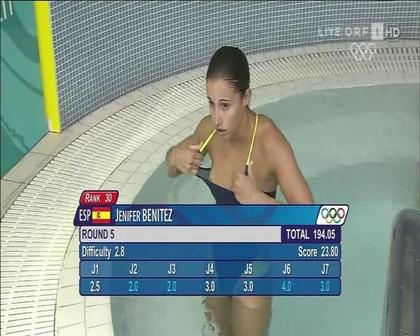 女子水球選手の水着 (5)